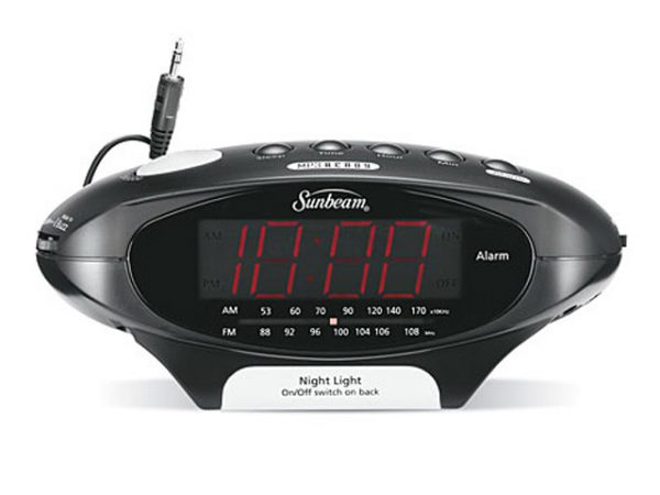 Mp3 Ready Clock Radio